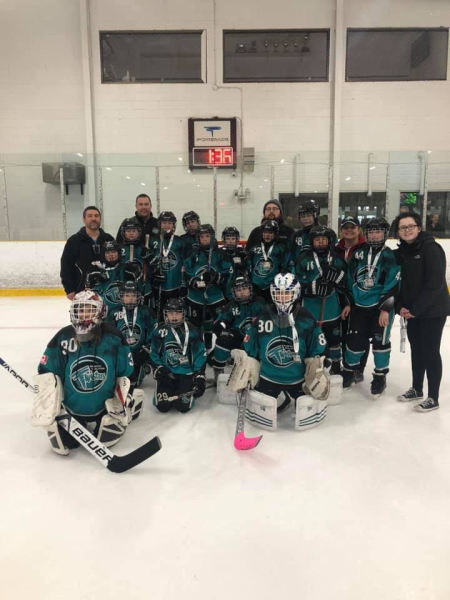 Atom AA Twisters Earn Silver Lining at LLFHL Championship